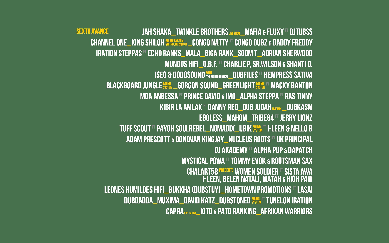 IDG line up 2018