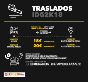 Traslados IDG